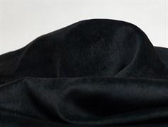 Вельвет мелкий рубчик, черный - фото 11766