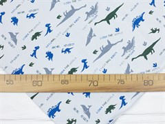 Кулирка с лайкрой Динозавры - фото 11882