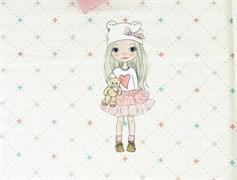 КУПОН Девочки блондинка с прямыми волосами - фото 12035