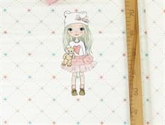 КУПОН Девочки блондинка с прямыми волосами - фото 12036