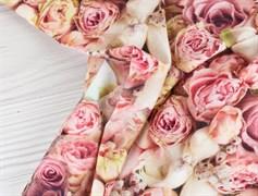 Кулирка розовые розы