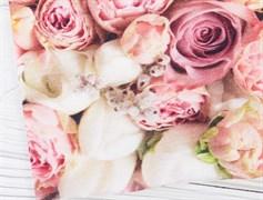 Кулирка розовые розы - фото 12050