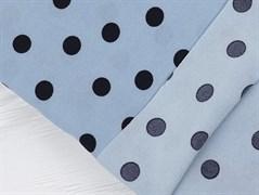 Супер софт горох на голубом - фото 12287