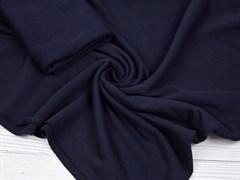 Кашкорсе плотное темно-синее - фото 12407