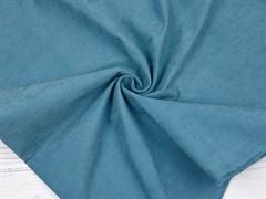 Курточная ткань с велюровым эффектом, Атлантик - фото 12455