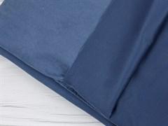 Курточная ткань с велюровым эффектом, Деним - фото 12459