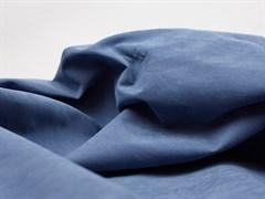 Курточная ткань с велюровым эффектом, Деним