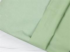 Курточная ткань с велюровым эффектом, Минт - фото 12468