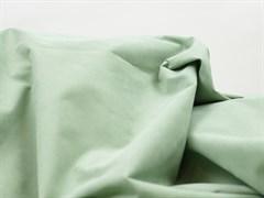 Курточная ткань с велюровым эффектом, Минт
