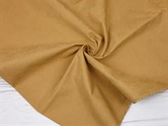 Курточная ткань с велюровым эффектом, Кэмел - фото 12474