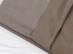 Курточная ткань с велюровым эффектом, Капучино - фото 12478