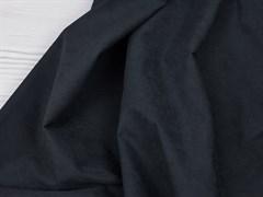 Курточная ткань с велюровым эффектом, Черный - фото 12485
