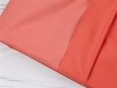 Курточная ткань с велюровым эффектом, Коралл - фото 12488