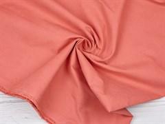 Курточная ткань с велюровым эффектом, Коралл - фото 12489