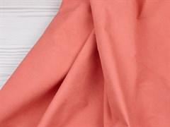 Курточная ткань с велюровым эффектом, Коралл - фото 12490