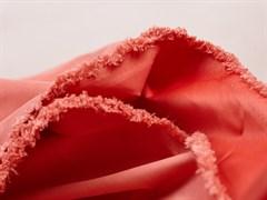 Курточная ткань с велюровым эффектом, Коралл - фото 12492