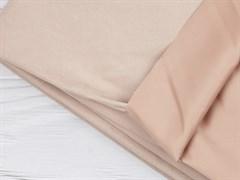 Курточная ткань с велюровым эффектом, Пудра - фото 12493