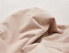 Курточная ткань с велюровым эффектом, Пудра