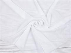 Стрейч сетка NUDE, белый - фото 12507