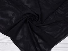 Стрейч сетка NUDE, черный - фото 12553