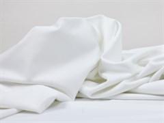 Подкладочная ткань, стрейч, белая