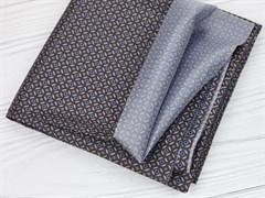 Подкладочная ткань Коричневый орнамент - фото 12682