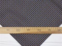 Подкладочная ткань Коричневый орнамент - фото 12683