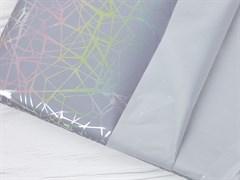 Светоотражающая плащевая ткань, паутинка серебро - фото 12802
