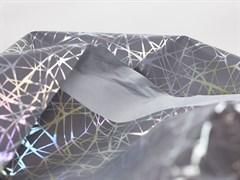 Светоотражающая плащевая ткань, паутинка серебро - фото 12809