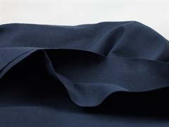 Деним с велюр эффектом, темно-синий - фото 12997