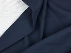 Деним с велюр эффектом, темно-синий - фото 12998