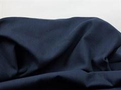 Деним с велюр эффектом, темно-синий - фото 12999