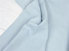 Деним с велюр эффектом, голубой - фото 13003
