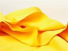 Деним с велюр эффектом, желтый