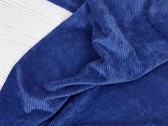 Вельвет крупный рубчик, синяя дымка - фото 13066
