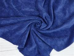 Вельвет крупный рубчик, синяя дымка - фото 13067