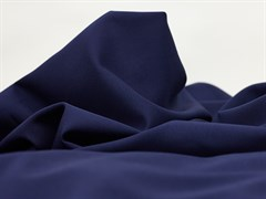 Костюмная ткань Гальяно, темно-синий