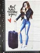 ТТ Девушка с чемоданом