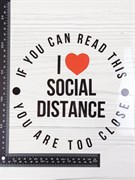 ТТ Social distance
