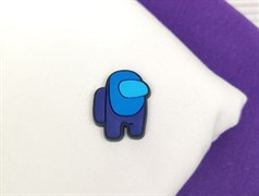 Нашивка AMONG*US, синий