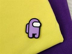 Нашивка AMONG*US, фиолетовый