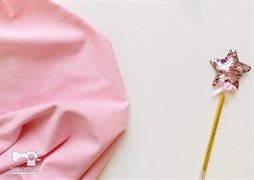 Светло-розовый футер