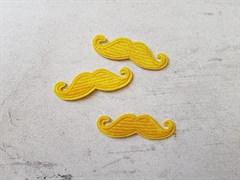Термоаппликация, Усы желтые