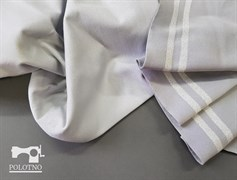 Подвяз трикотажный, СВЕТЛО-СЕРЫЙ + люрекс серебро