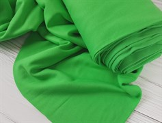 Интерлок однотонный, зеленый