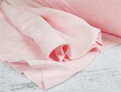 Интерлок однотонный, нежно-розовый