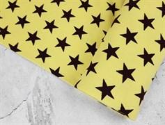 Рибана Звезды на светло-желтом