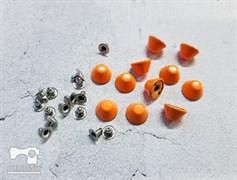 Конусы с креплением, оранжевый 10мм