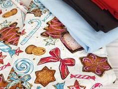 Футер 2х-нитка, Новогодние угощения - фото 7640