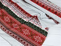 Футер 2х-нитка, Зимний орнамент - фото 7648